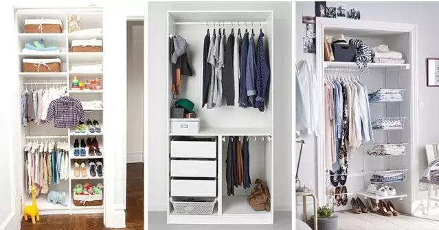 9种衣柜收纳方案 衣服再多也不愁装不下!
