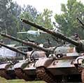 79式坦克开赴朱日和