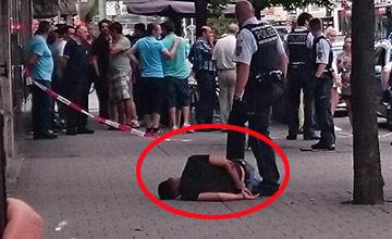 又是德国!难民当街砍死孕妇