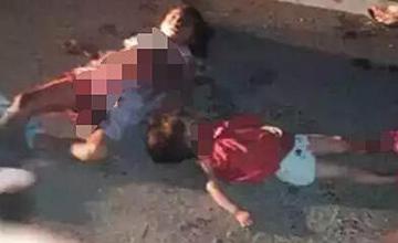 车上大量鞭炮突然爆炸 一对母女当场被炸身亡