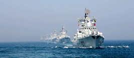 许利平:中俄首在南海军演有示范和威慑作用