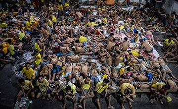 菲律宾最臭名昭著监狱的日常生活
