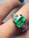 17枚祖母绿戒指