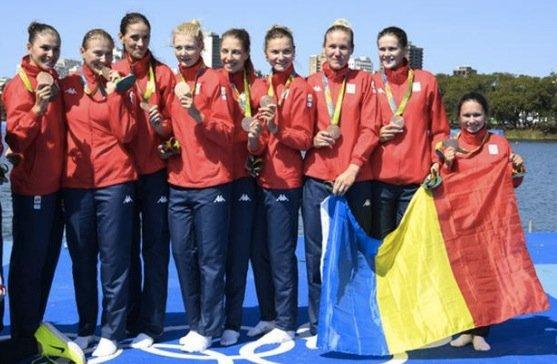 罗马尼亚时间_罗马尼亚赛艇铜牌选手曾是体操名将 世锦赛摘铜