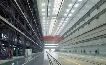 渤船重工新总装生产线曝光 或将生产新型核潜艇