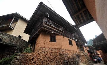 中国一村庄有八百多年历史 至今仍保留原始生活状态