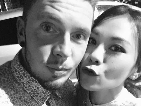 蔡健雅晒与男友甜蜜亲吻照 变幸福小女人(图)