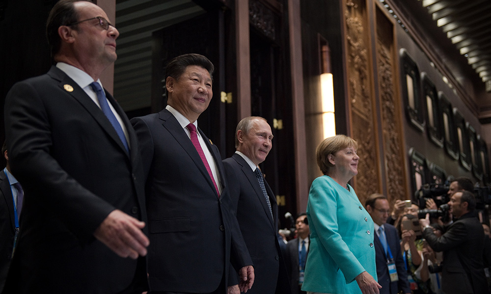 闭幕了,不能再错过的G20大人物瞬间(下) - 雷石梦 - 雷石梦