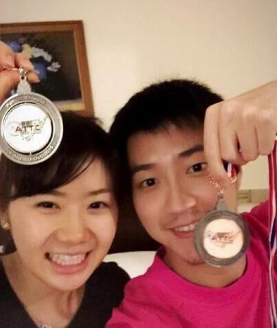 福原爱被曝本月中旬完婚 嫁台湾乒乓球选手