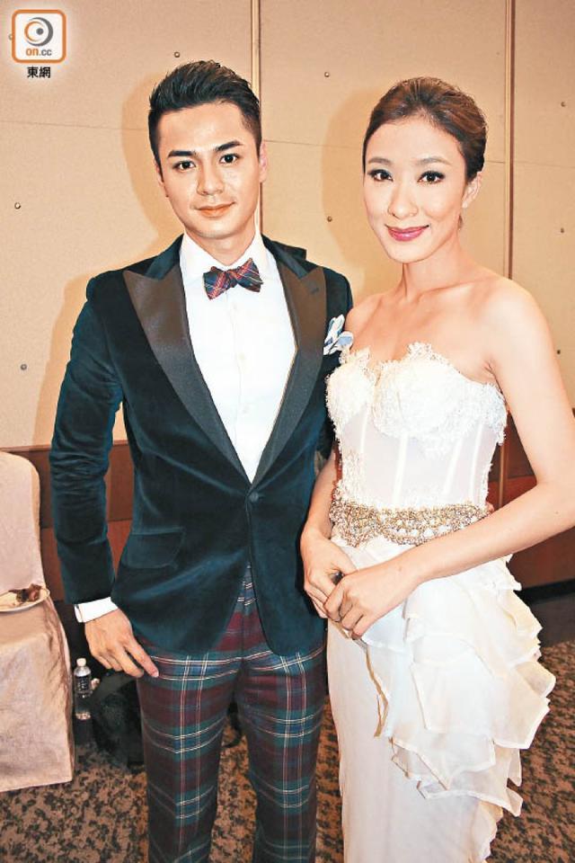 他被传家暴前任 吃软饭出轨 如今娶到TVB花旦(图)