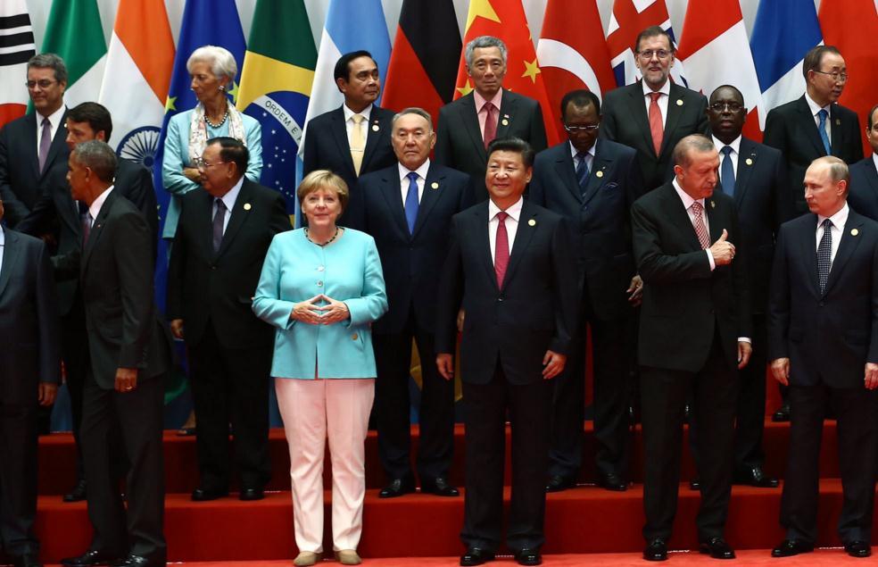 边驿卒带你看G20花絮 合影照片有什么玄机