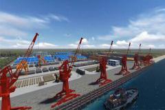 江西最大内河码头试运行 预计年吞吐量集装箱20万标箱