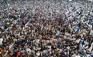这是今天的南昌火车站