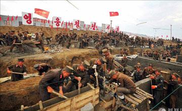 朝鲜是这样抗洪救灾的