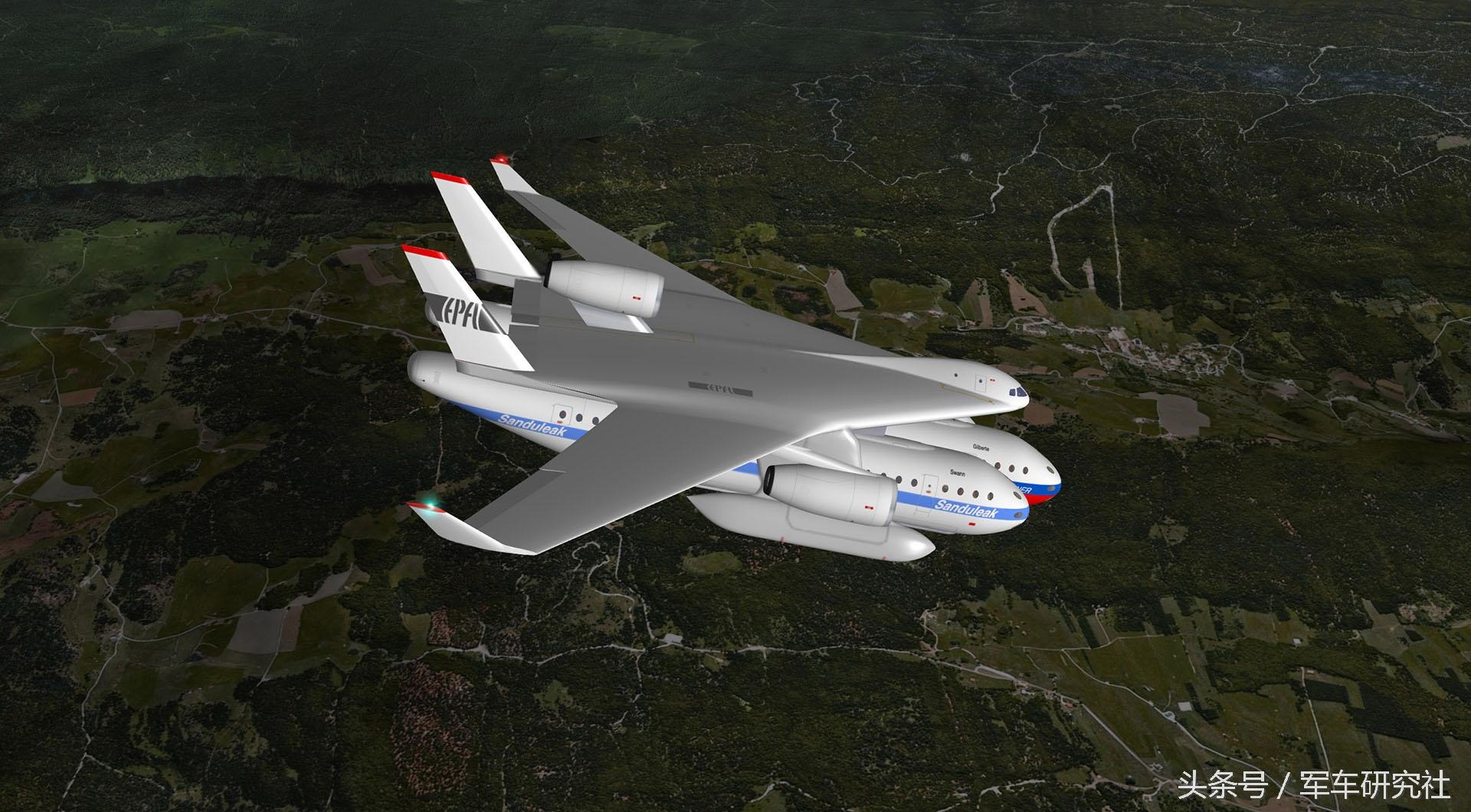 工程师设计出模块化飞机:客舱吊在机身下方