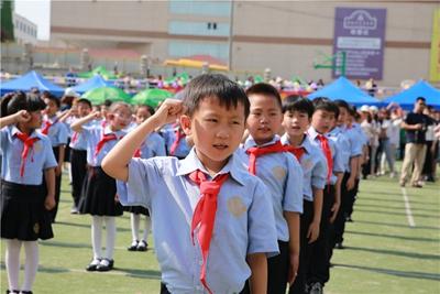 11月5日格兰德新生2017级小学入学说明军训预约要吗小学生图片