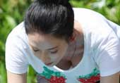42岁林志玲练瑜伽竟这么拼