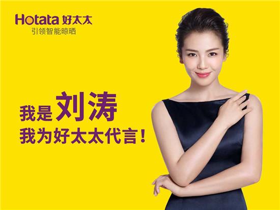 广东好太太集团, 刘涛, 明星代言