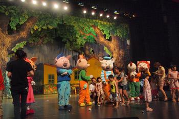 儿童剧《三只小猪》2017年欢乐上演