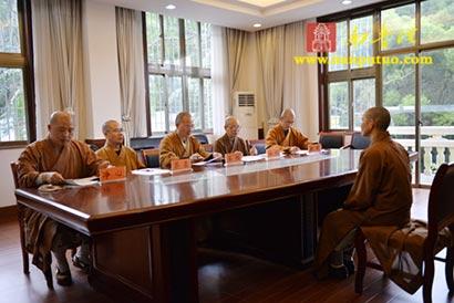 闽院法师参加全国汉传佛教院校教师资格认定考核