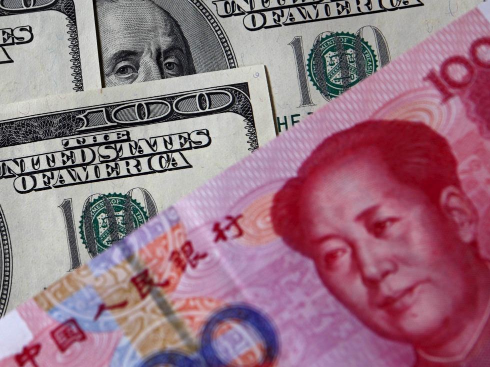两岸人民币跌幅再扩大 离岸人民币跌逾250点