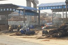 南昌:重污染日 一些工地存污染隐患