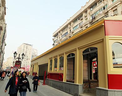 """南昌""""地下步行街""""拟定本周六开街(图)"""