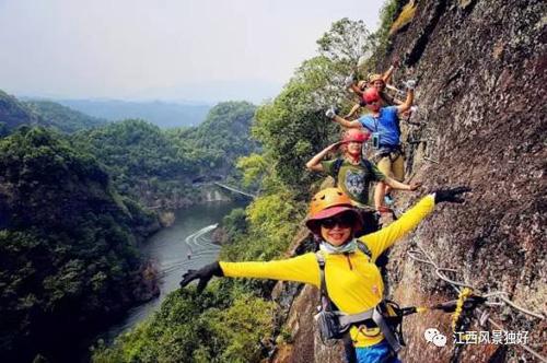 东浒寨风景区位于修水县征村乡潭坑村境内
