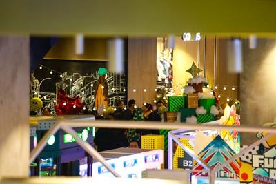 """探秘全城青岛人的圣诞礼物:万象城""""n次方公园"""""""