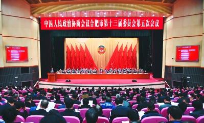 合肥市政协十三届五次会议开幕