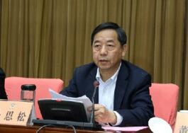 合肥市政协主席杨思松与委员一起审议市政协工作报告