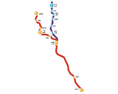 广州最快地铁有没经过你家门口