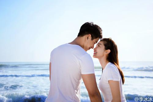 """李冰冰晒与男友亲密照正式公开恋情 """"媒人""""竟是任泉"""