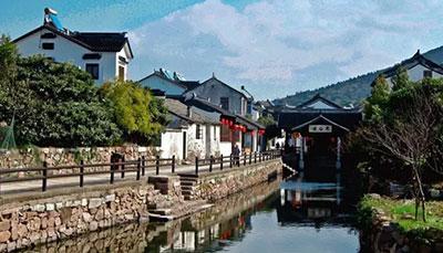小镇木渎风景照片