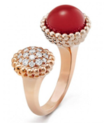 9款红色珠宝陪你过个红火的新年