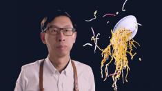 """黄磊林依轮争抢的""""厨师"""" 做出的食物却根本没法吃"""