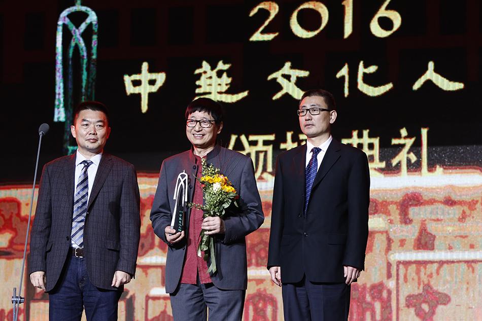 中国当代铜建筑之父朱炳仁获奖