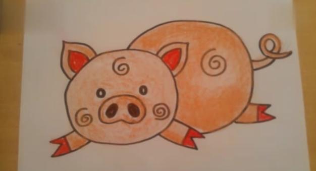 可爱的小猪猪