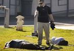 监拍15岁学生持枪射击老师同学 行凶后自尽