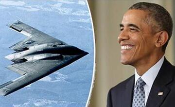 临走之前过把瘾 奥巴马批准B2轰炸机空袭利比亚