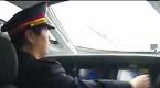 罕见视频:高铁司机重雾霾下时速300公里行驶
