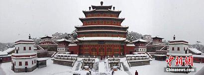 """中国北方最大藏传佛教寺庙30年来首次举办""""驱魔法会"""""""
