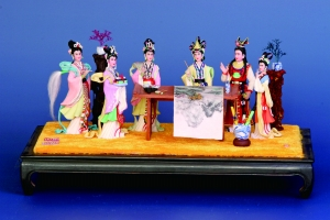 历史丨非遗传承人张宝琳带领传统面塑走出国门,moluoke