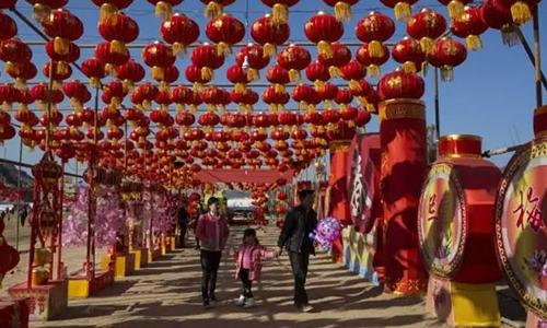 陕北清涧过大年 欢天喜地闹新春