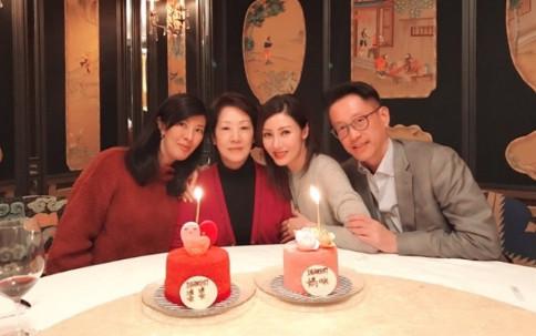 李嘉欣为妈妈庆生 母女二人高颜值抢镜!