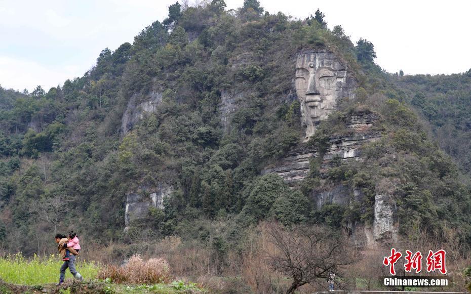 贵阳深山竟藏世界最大天然巨佛 距今已千年 - 春雨 - 春风化雨 润物无声