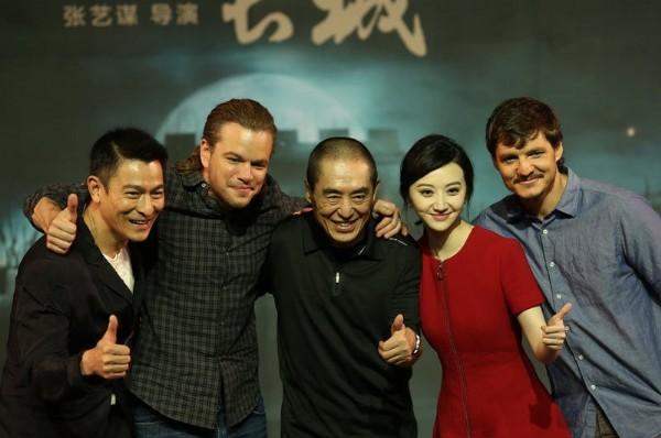 媒体:张艺谋《长城》在北美上映,被骂惨