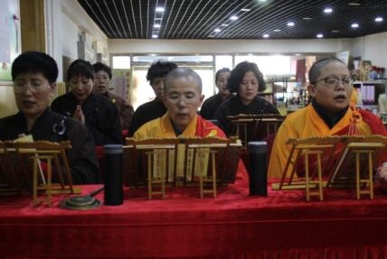 莲宗寺为天津大悦城坠亡两幼童举行超度法会