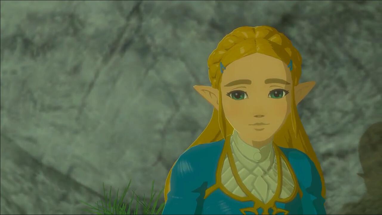 游戏中的塞尔达公主图片