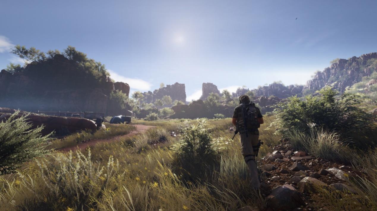 《幽灵行动:荒野》实际使用ansel截取的部分游戏画面